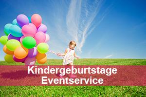 Kindergeburtstage, Eventservice